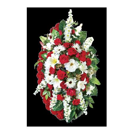 Венки и корзинки из искусственных цветов