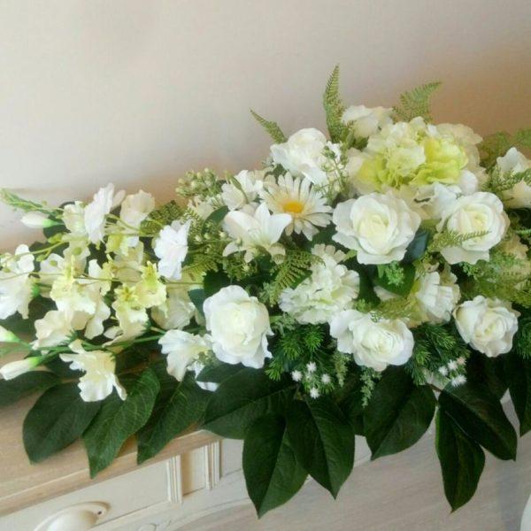 Кремационные композиции из живых цветов